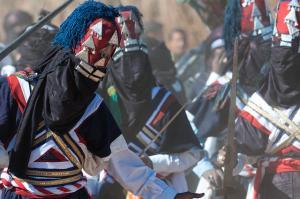 Danse folklorique de Touraeg (illizi)