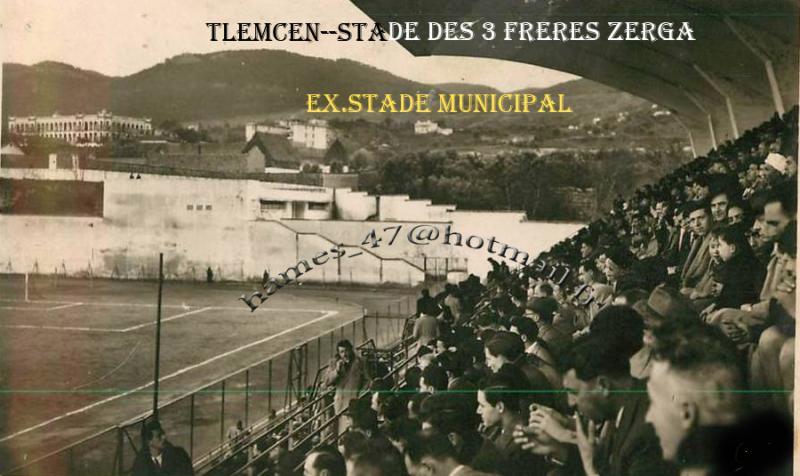 STADE DES 3 FRERES ZERGA---EX. STADE MUNICIPAL---
