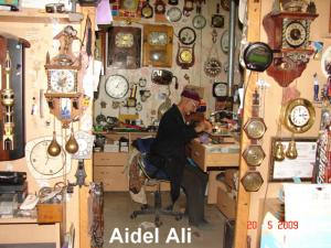 Mr Aidel Ali Horloger à Bordj Bou Arrerij