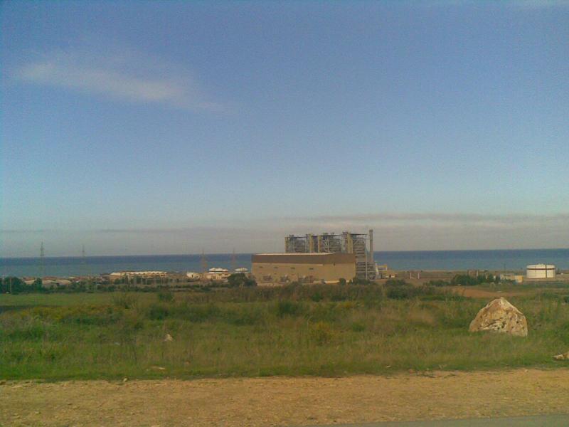 Centrale Electrique � Cap Djinet (Wilaya de Boumerdes)