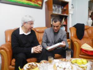 L'Offre d'un Livre sur Médéa au Professeur Saadane