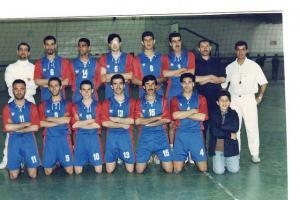 OM Médéa Volley ball les années 90