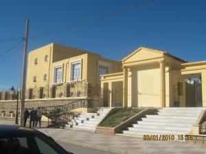 L'extérieur du siège de la Wilaya de Tissemssilt