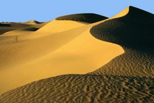Coucher de Soleil sur les Dunes à El Oued
