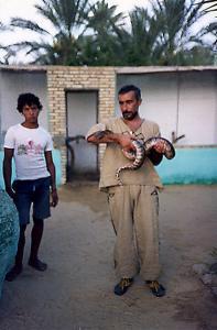 Chasseur de Serpent à El Oued