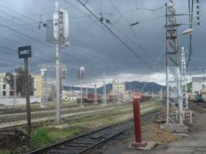 Le Chemin de fer à Souk Ahras