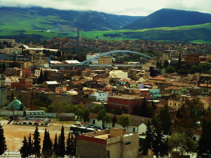 Survol de la ville de Souk Ahras