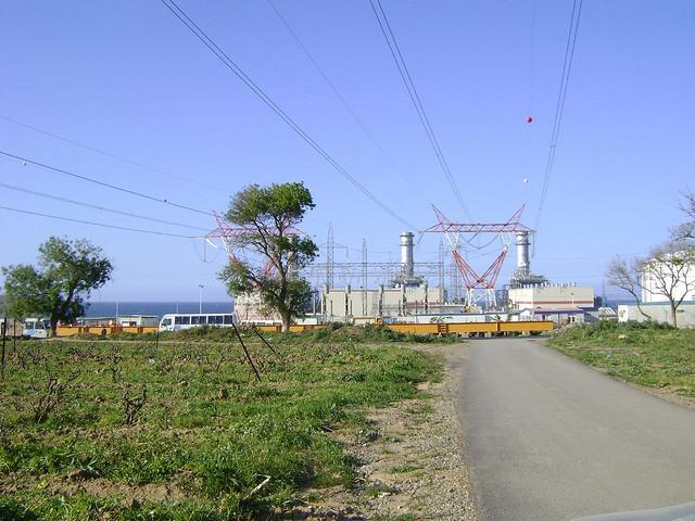 La Station Electrique de Sidi Ghiles � Tipaza