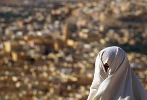 Voile féminin traditionnel de Ghardaia (Al Hayak)