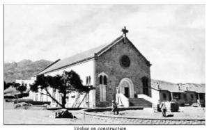 L'église Sainte-Barbe, commune de Ouenza