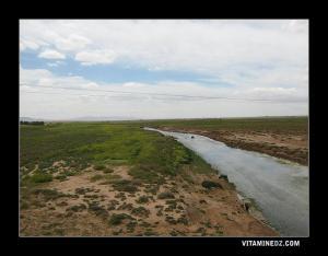 Oued Ouerk traversant la commune de Sidi Lajal