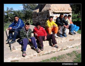 صورة لشباب قرية أحفير