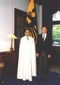 السفير الجزائري حسين مغار في زيارة لبرلين بألمانيا