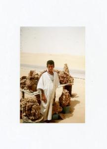 Quelque part dans le désert - du côté d'El Oued - 1990