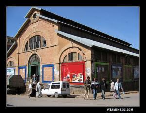 السوق الرئيسي في وسط مدينة تلمسان