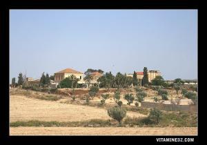 بناء من العهد الإستعماري بقرية شعبة اللحم بولاية عين تموشنت