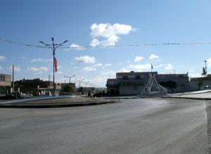 Le monument de Ben S'rour sur la nationale 46