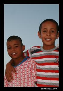أطفال من منطقة لبيوض سيد الشيخ