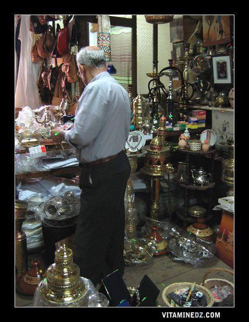 محل بيع المنتوجات التقليدية (ولاية تلمسان)