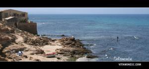 هواة الصيد على شاطئ سلامندر (ولاية مستغانم)