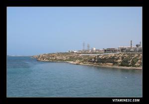المنطقة الصناعية لمستغانم قرب ساحل سلامندر