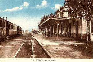محطة القطار القديمة لمدينة المدية (الفترة الإستعمارية)