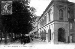 مسرح مدينة مستغانم إبان الإستعمار