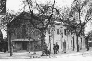 المسرح القديم لمدينة ڨالمة (الفترة الإستعمارية)