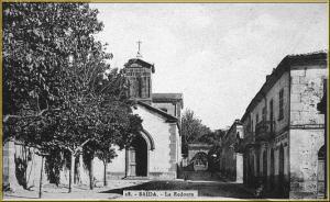 كنيسة لاريدوت بمدينة سعيدة (الفترة الإستعمارية)