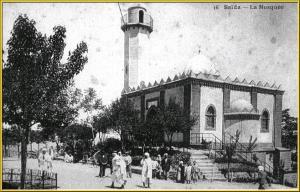 مسجد مدينة سعيدة (الفترة الإستعمارية)
