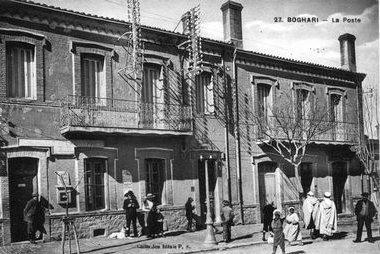 صورة قديمة لقصر البخاري بمدينة المدية (الفترة الإستعمارية)