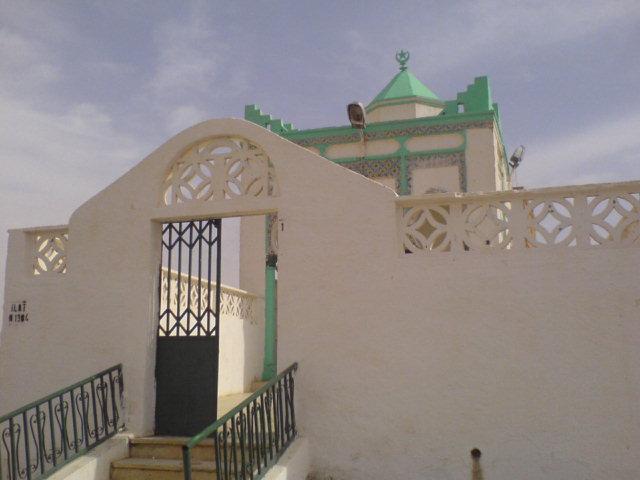 صورة لضريح سيدي عبد القادر بالأغواط