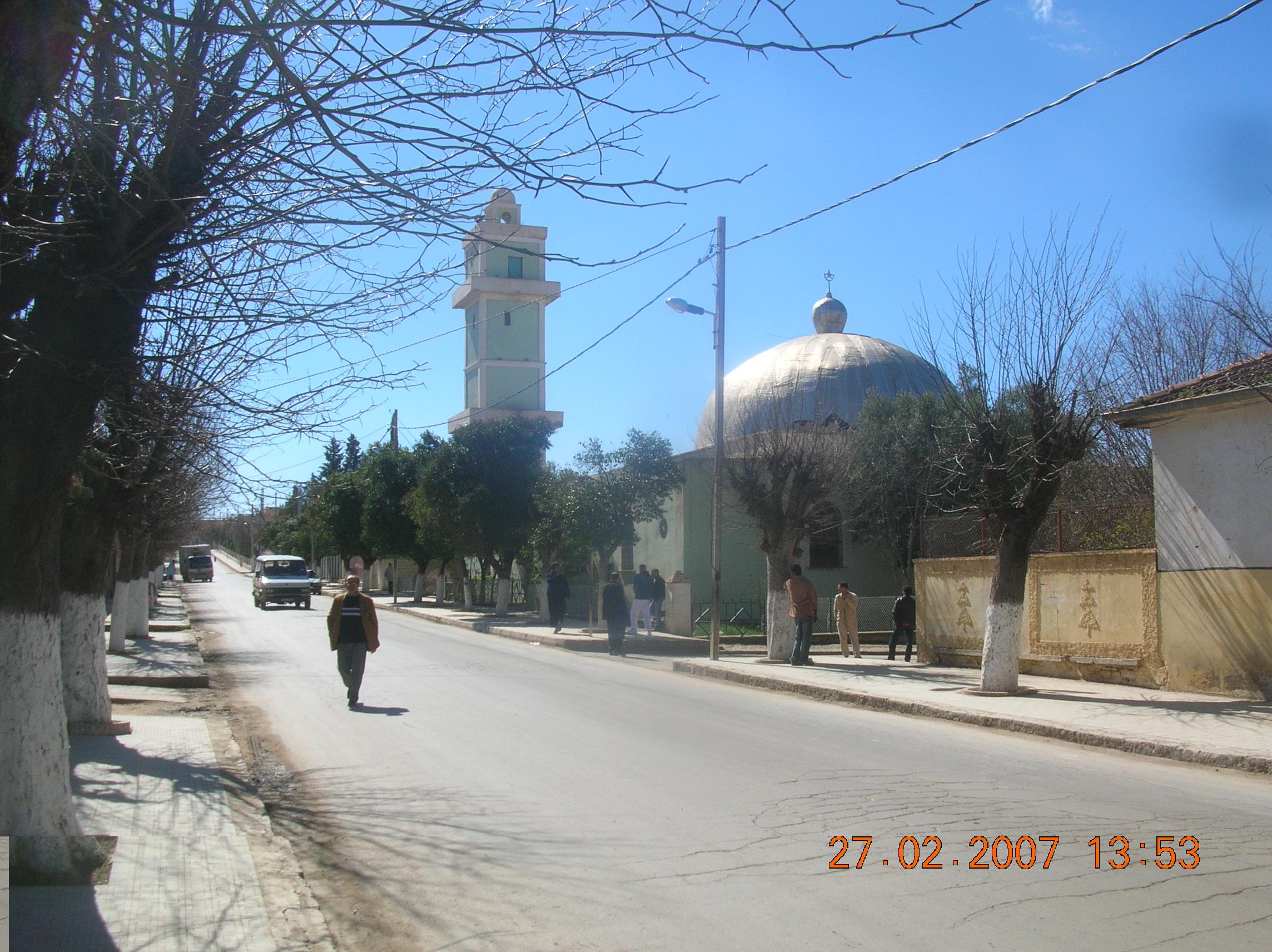 الشارع الرئيسي بقرية ملاكو