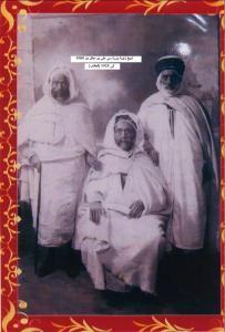 شيخ زاوية وزرة سي علي علي بن علال 1900 الجالس