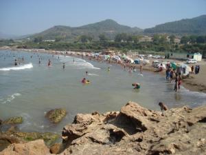 شاطئ تافوره بساحل ولاية تيبازة