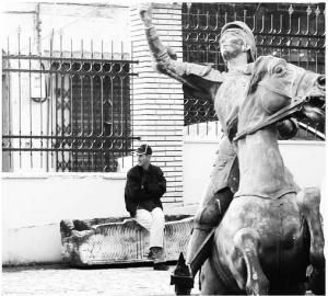 تمثال جان دارك (الفترة الإستعمارية)