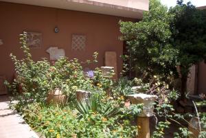 Cour du musée de Tipaza