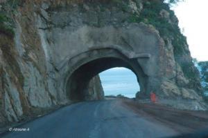 Beni Haoua le tunnel en décembre 2011 (Wilaya de Chlef)