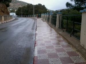 Sur la Route de Hammam Sidi Slimane