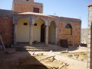 مباني جديدة بمدينة حاسي الدلاعة