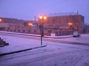 مدينة الأغواط تحت الثلوج