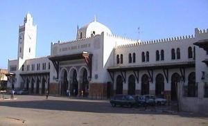 محطة السكة الحديدية بمدينة وهران