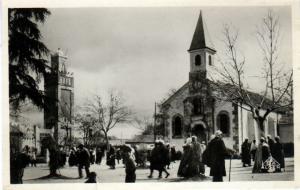 كنيسة البرواڨية في عهد الإستعمار