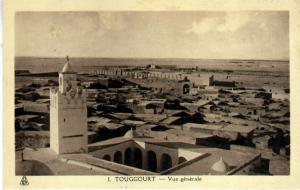 منظر شامل لمدينة توڨرت
