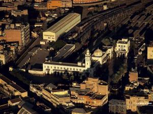 منظر من محطة السكة الحديدية بمدينة وهران