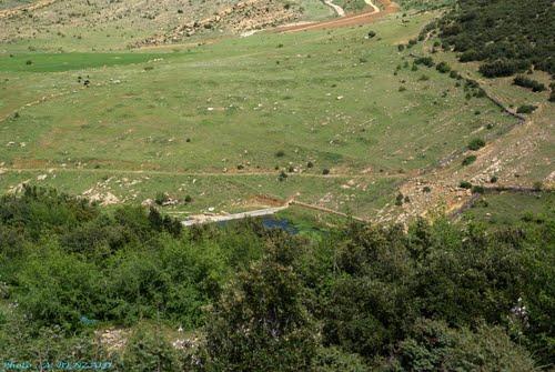 Retenue d'eau dans la commune de  Oued el Ma