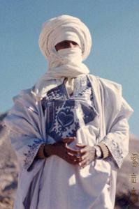 صورة لشيخ تارڨي (الجنوب الجزائري)