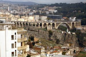 CONSTANTINE, ALGERIA - DECEMBER 5: A general view