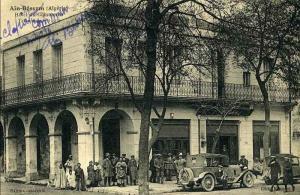 مركز التجارة بعين بسام (الفترة الإستعمارية)