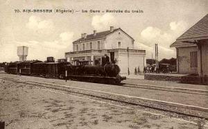 ممر القطار بعين بسام (الفترة الإستعمارية)